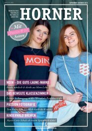 HORNER Magazin | September-Oktober 2019