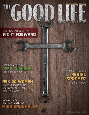 The Good Life Men's Magazine - September/October 2019