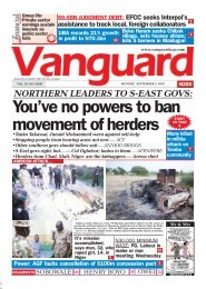 02092019 - NORTHERN LEADERS TO S-EAST GOVS: You've no powers to ban movement of herders