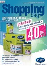 Shopping Bag Settembre Ottobre 2019