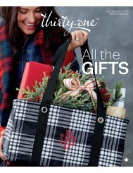 Thirty One Gifts Fall 2019 Catalogue Canadian