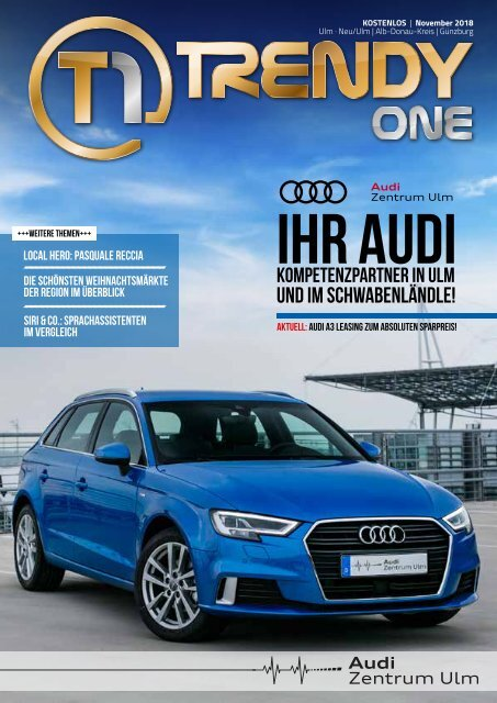 TRENDYone | Das Magazin - Ulm - November 2018