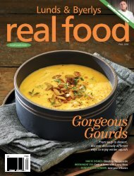 Real Food Fall 2019