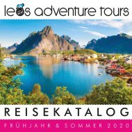 Leo`s Adventure Tours Webkatalog 2020