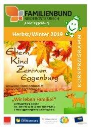 ElKiZ Herbstprogramm 2019