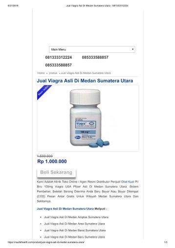 Jual Viagra Asli Di Medan Sumatera Utara - 081333312224
