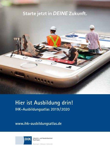 IHK-Ausbildungsatlas 2019/2020