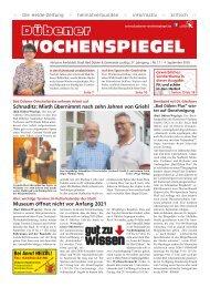 Dübener Wochenspiegel - Ausgabe 17 - Jahrgang 2019