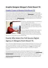 Aku Graphic Designer Morgans Point Resort TX   254-613-1196