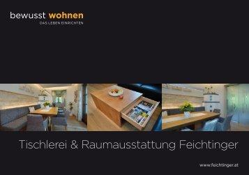 BW Journal 2019 Tischlerei und Raumausstattung Feichtinger