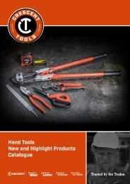 Crescent - Brochure - Hand tools - 2018 (EN)