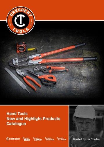 Crescent - Brochure - Hand tools - 2018 (EN)