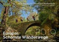 Europas Schönste Wanderwege 2019