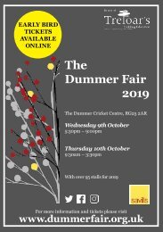 Dummer Fair Invitation 2019