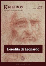 Kaleidos 37 — L'eredità di Leonardo