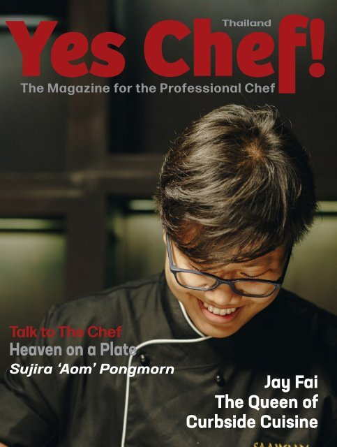 Chef Thailand Magazine Published in English and Thai languages