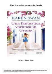 Scarica Una fantastica vacanza in Grecia Libri Gratis (PDF, ePub, Mobi) Di Karen Swan