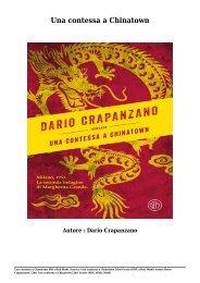 Scarica Una contessa a Chinatown Libri Gratis (PDF, ePub, Mobi) Di Dario Crapanzano