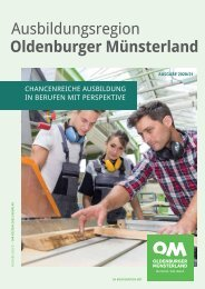 Ausbildungsregion Oldenburger Münsterland - Ausgabe 2019_2020