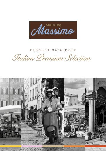 Maestro Massimo Products Catalogue