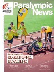 Paralympic News 09 2019