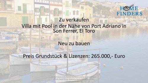 Luxusvilla in Son Ferrer mit Pool in der Nähe von Port Adriano (LUX0032)