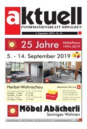 36-2019 Aktuell Obwalden