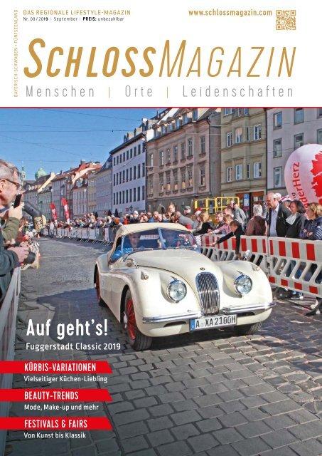 SchlossMagazin September 2019 Bayerisch-Schwaben und Fünfseenland