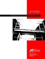 Guide pratique de l'École de mode du Cégep Marie-Victorin 2019-2020 (160819)