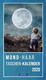 Mondhaar Taschenkalender 2020 - METATRON Verlag