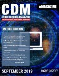 Cyber Defense eMagazine September 2019