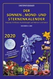 Der Sonnen-, Mond- und Sternenkalender 2020 - Dickbauer/Janko - Metatron-Verlag