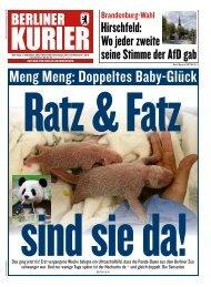 Berliner Kurier 03.09.2019