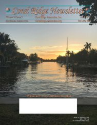30_3 August 2019 Coral Ridge Newsletter