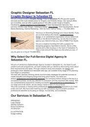 Aku Graphic Designer Sebastian FL   772-646-4853