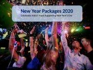 New Year 2020 Packages   | New Year Celebrations