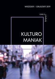 Kulturomaniak wrzesień-grudzień 2019