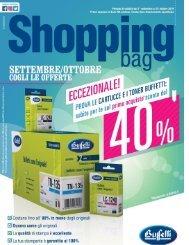 Shopping Bag   settembre-ottobre