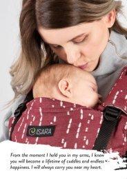 ISARA Babywearing Brochure