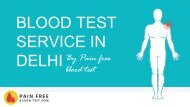 Blood test service in Delhi