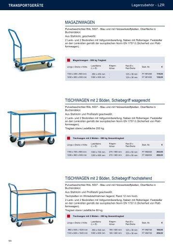 Transportgeräte - Estant GmbH