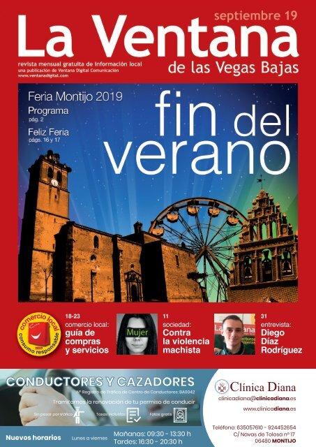 La Ventana de las Vegas Bajas - septiembre de 2019