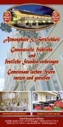 Hotel Höttche Dormagen, 2019 Übersicht