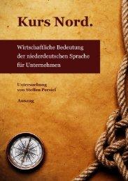 Wirtschaftliche Bedeutung des Plattdeutschen