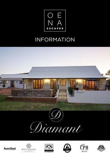 Diamand Farmhouse - Info book