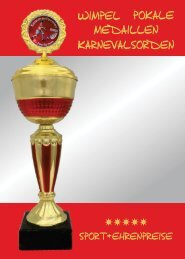Sport + Ehrenpreise Katalog 2019