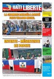 Haiti Liberte 4 Septembre 2019