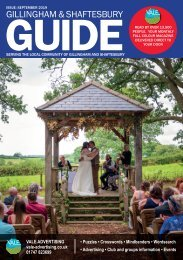 Gillingham & Shaftesbury Guide September 2019