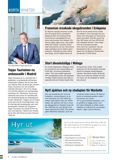 En Sueco September 2019