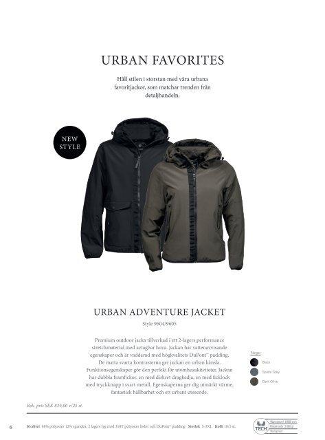 Tee Jays Outerwear 2019